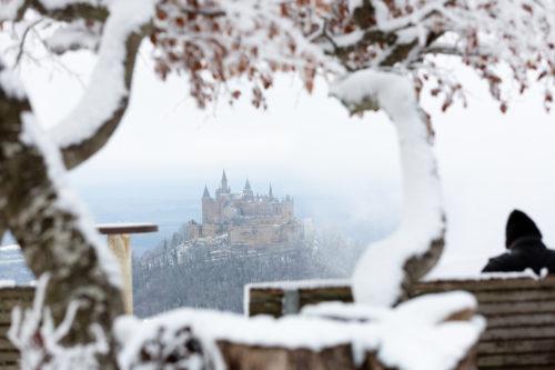 Winterlandschaft bei Albstadt